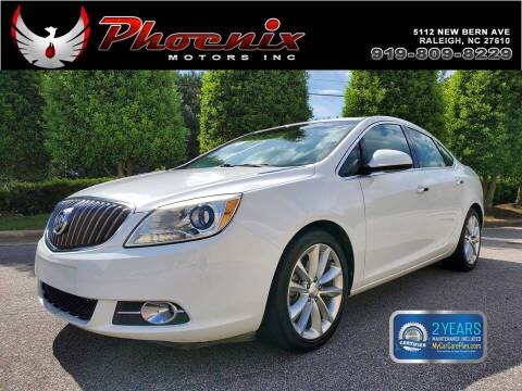 2012 Buick Verano for sale at Phoenix Motors Inc in Raleigh NC
