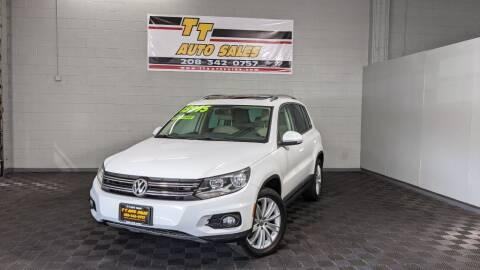 2015 Volkswagen Tiguan for sale at TT Auto Sales LLC. in Boise ID