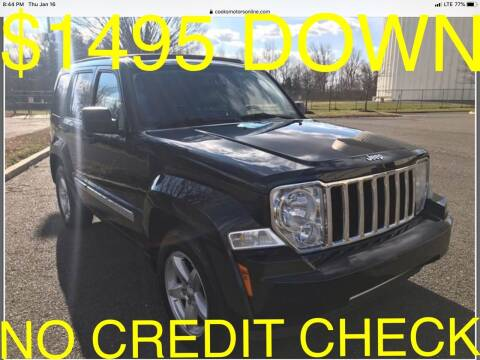2011 Jeep Liberty for sale at Cooks Motors in Westampton NJ