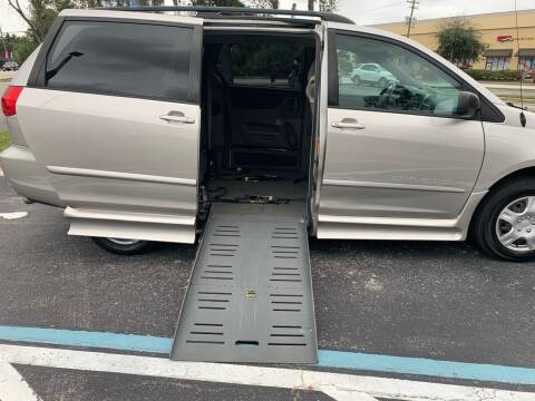 2008 Toyota Sienna for sale at Diversified Auto Sales of Orlando, Inc. in Orlando FL