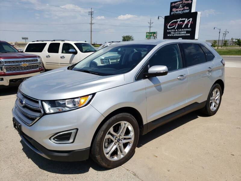 2018 Ford Edge for sale at CFN Auto Sales in West Fargo ND