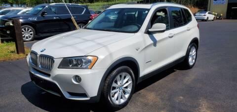 2013 BMW X3 for sale at GEORGIA AUTO DEALER, LLC in Buford GA