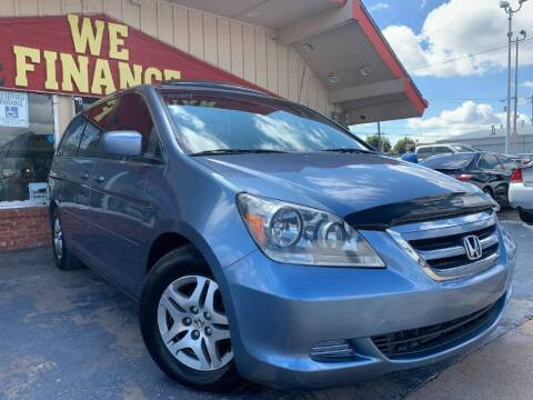 2006 Honda Odyssey for sale at Caspian Auto Sales in Oklahoma City OK