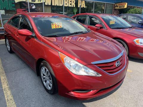 2011 Hyundai Sonata for sale at BURNWORTH AUTO INC in Windber PA