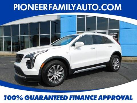 2020 Cadillac XT4 for sale at Pioneer Family auto in Marietta OH