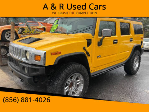 2003 HUMMER H2 for sale at A & R Used Cars in Clayton NJ