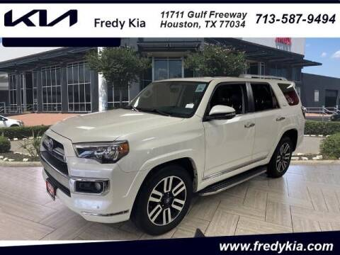 2016 Toyota 4Runner for sale at FREDY KIA USED CARS in Houston TX