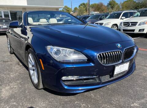 2012 BMW 6 Series for sale at KAYALAR MOTORS in Houston TX