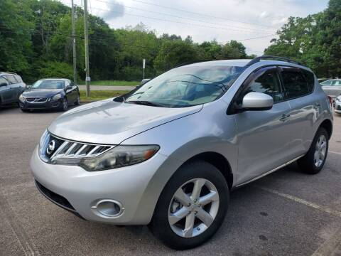 2009 Nissan Murano for sale at Carolina Auto Trading in Raleigh NC