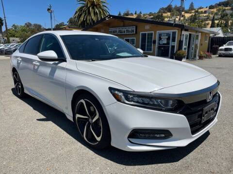 2019 Honda Accord for sale at MISSION AUTOS in Hayward CA