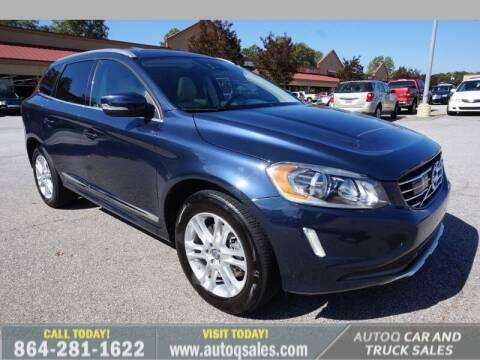 2015 Volvo XC60 for sale at Auto Q Car and Truck Sales in Mauldin SC