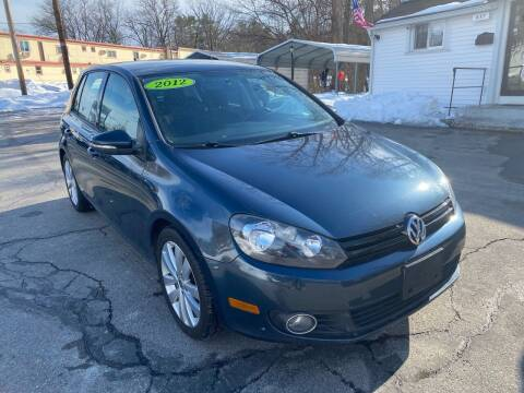 2012 Volkswagen Golf for sale at USA Auto Sales in Leominster MA