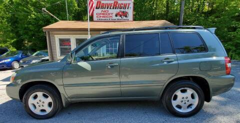 2004 Toyota Highlander for sale at DriveRight Autos South York in York PA