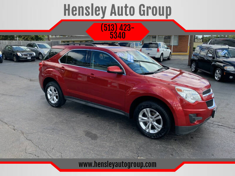 2013 Chevrolet Equinox for sale at Hensley Auto Group in Middletown OH