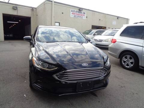 2017 Ford Fusion for sale at ACH AutoHaus in Dallas TX