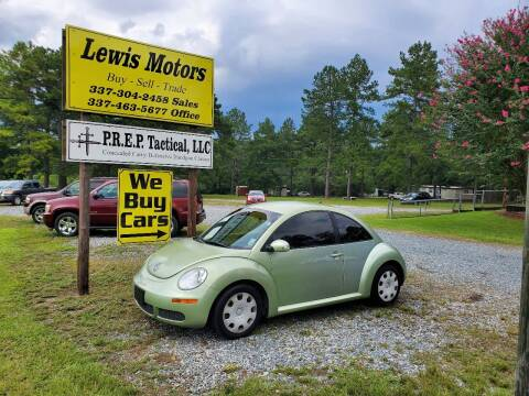 2010 Volkswagen New Beetle for sale at Lewis Motors LLC in Deridder LA