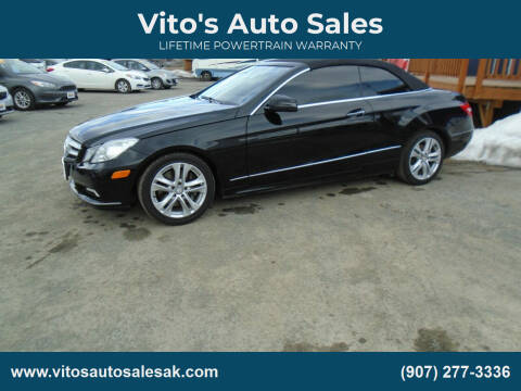 2011 Mercedes-Benz E-Class for sale at Vito's Auto Sales in Anchorage AK