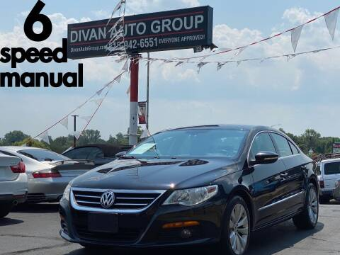 2010 Volkswagen CC for sale at Divan Auto Group in Feasterville Trevose PA