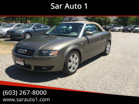 2005 Audi A4 for sale at Sar Auto 1 in Belmont NH