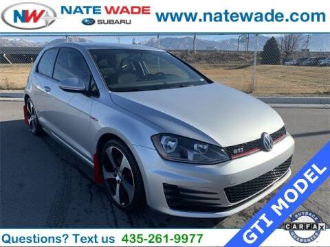 2017 Volkswagen Golf GTI for sale at NATE WADE SUBARU in Salt Lake City UT