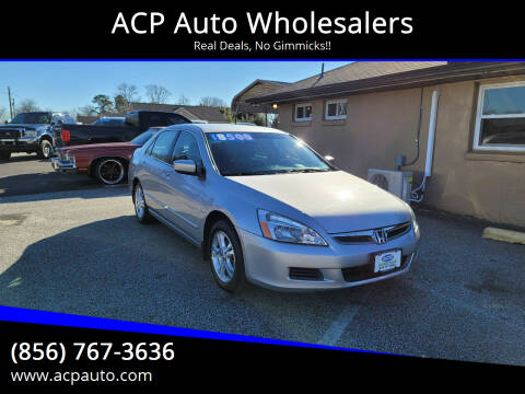 2006 Honda Accord for sale at ACP Auto Wholesalers in Berlin NJ