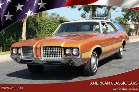 1972 Oldsmobile Vista Cruiser for sale at American Classic Cars in La Verne CA