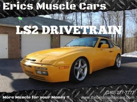 1987 Porsche 944 for sale at Erics Muscle Cars in Clarksburg MD