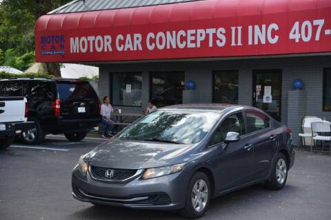 2013 Honda Civic for sale at Motor Car Concepts II - Kirkman Location in Orlando FL