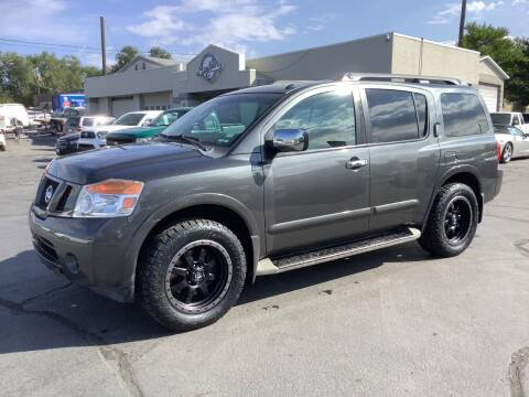 2012 Nissan Armada for sale at Beutler Auto Sales in Clearfield UT
