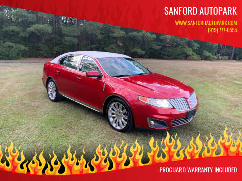 2011 Lincoln MKS for sale at Sanford Autopark in Sanford NC