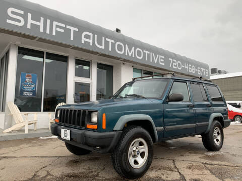 1997 Jeep Cherokee for sale at Shift Automotive in Denver CO