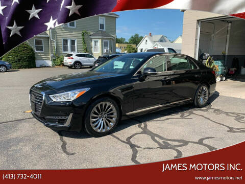 2017 Genesis G90 for sale at James Motors Inc. in East Longmeadow MA