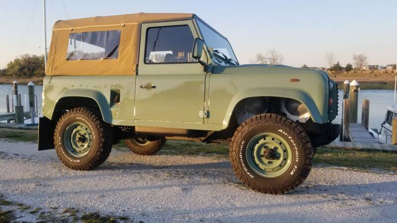 1991 Land Rover Defender for sale at McQueen Classics in Lewes DE