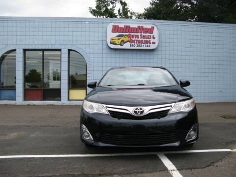 2012 Toyota Camry for sale at Unlimited Auto Sales & Detailing, LLC in Windsor Locks CT