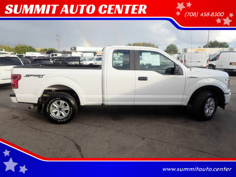 2018 Ford F-150 for sale at SUMMIT AUTO CENTER in Summit IL