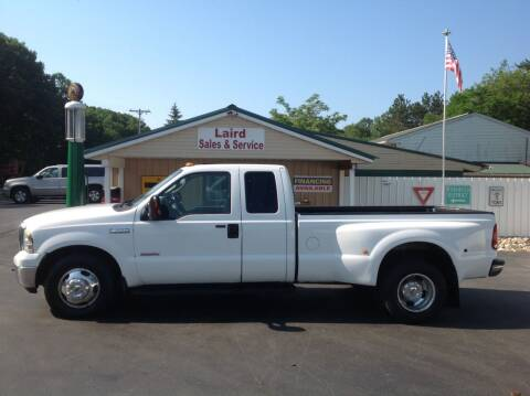 2005 Ford F-350 Super Duty for sale at LAIRD SALES AND SERVICE in Muskegon MI