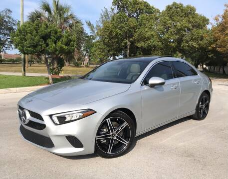 2021 Mercedes-Benz A-Class for sale at FIRST FLORIDA MOTOR SPORTS in Pompano Beach FL