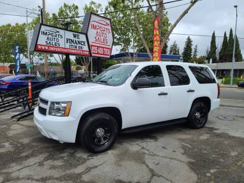 2012 Chevrolet Tahoe for sale at Imports Auto Sales & Service in San Leandro CA