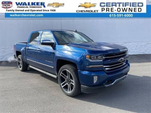 2017 Chevrolet Silverado 1500 for sale at WALKER CHEVROLET in Franklin TN