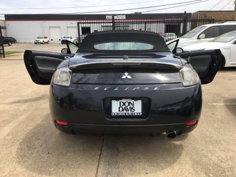 2008 Mitsubishi Eclipse Spyder for sale at TETCO AUTO SALES  / TETCO FUNDING in Dallas TX