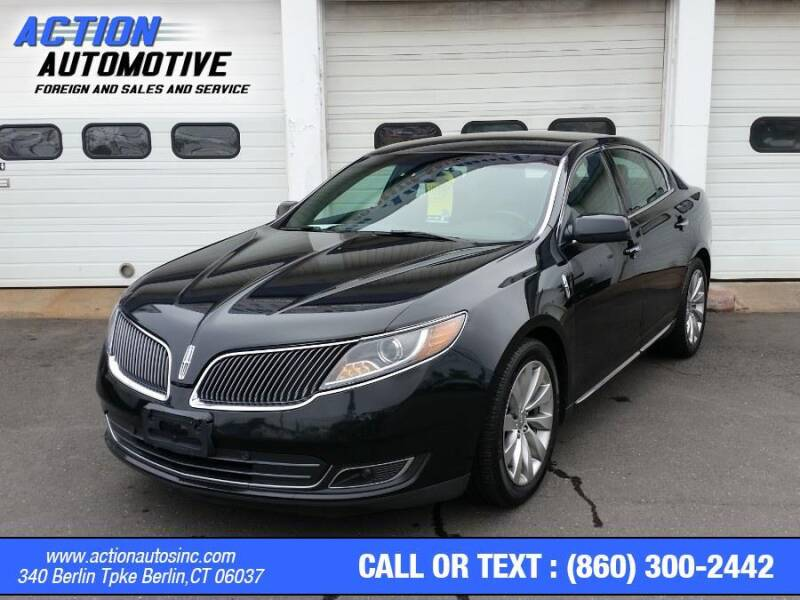 2015 Lincoln MKS for sale at Action Automotive Inc in Berlin CT