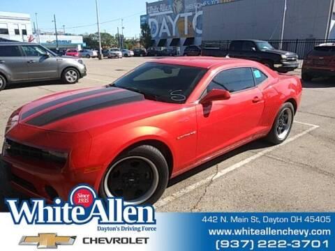 2013 Chevrolet Camaro for sale at WHITE-ALLEN CHEVROLET in Dayton OH