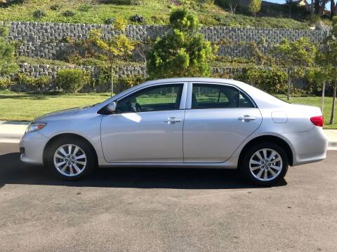 2009 Toyota Corolla for sale at CALIFORNIA AUTO GROUP in San Diego CA