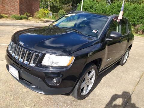 2013 Jeep Compass for sale at Hilton Motors Inc. in Newport News VA