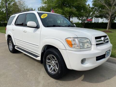 2006 Toyota Sequoia for sale at UNITED AUTO WHOLESALERS LLC in Portsmouth VA