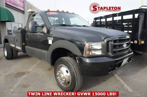 2000 Ford F-450 Super Duty for sale at STAPLETON MOTORS in Commerce City CO