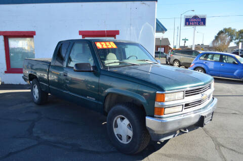 1996 Chevrolet C/K 1500 Series for sale at CARGILL U DRIVE USED CARS in Twin Falls ID