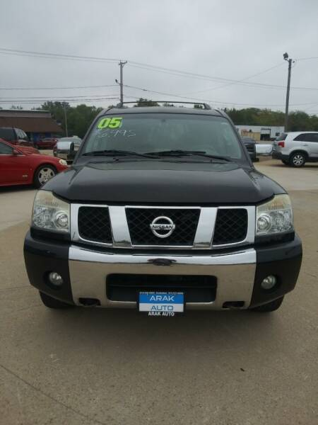 2005 Nissan Armada for sale at Arak Auto Brokers in Kankakee IL