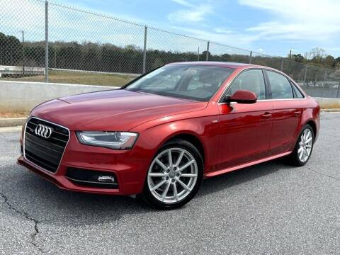 2014 Audi A4 for sale at CU Carfinders in Norcross GA