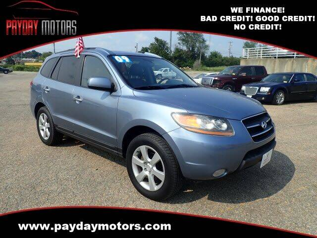 2009 Hyundai Santa Fe for sale at Payday Motors in Wichita KS